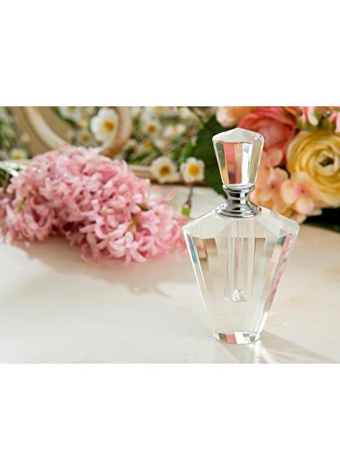 Gül Güler Kristal Parfüm Şişesi S9-5121 Renksiz